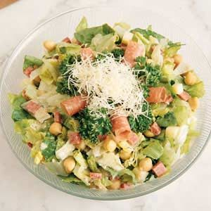 Chopped Salad with Parmesan Dressing Recipe
