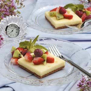 Cheesecake Dessert Squares Recipe