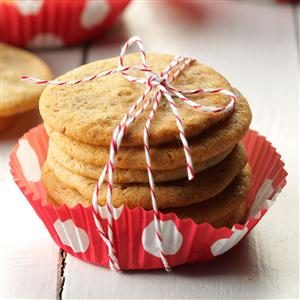 Anise Icebox Cookies Recipe