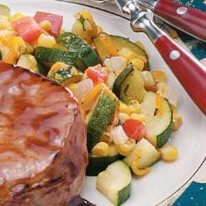 Corn Zucchini Saute Recipe photo by Taste of Home