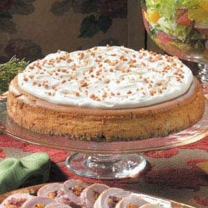 Maple Praline Cheesecake Recipe