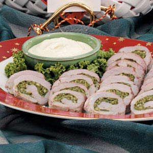 Pork Pinwheels Recipe