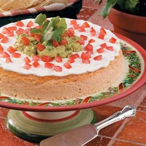 Salsa Cheesecake Recipe