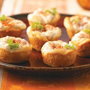 Ham and Cheese Tarts Recipe