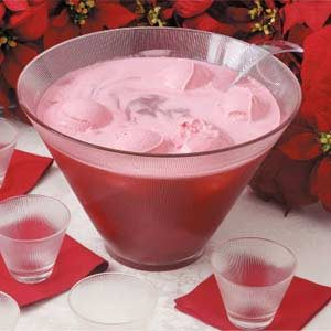 Christmas Glow Punch Recipe