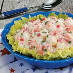 Cajun Shrimp Potato Salad