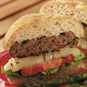 Flavorful Onion Burgers Recipe