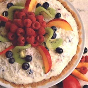 Fresh Fruit/Cheese Pie Recipe