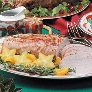 Orange-Maple Pork Roast Recipe