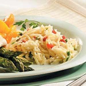 Parmesan Orzo Recipe