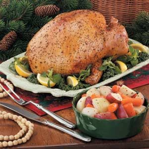 Greek Lemon Turkey Recipe