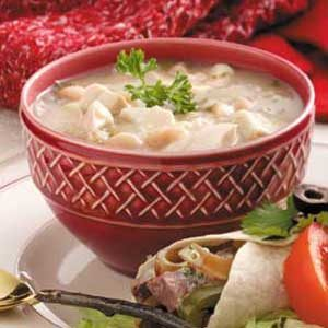 White Bean Chicken Stew Recipe