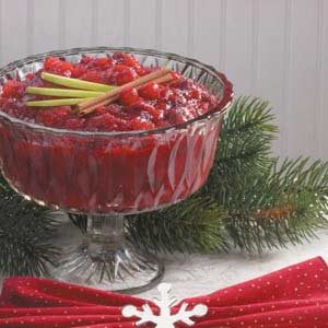Chunky Cranberry Applesauce Recipe