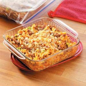 Favorite Hamburger Noodle Bake Recipe