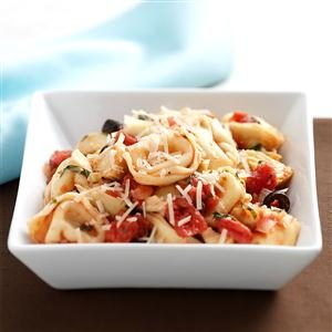 Herbed Artichoke Cheese Tortellini Recipe