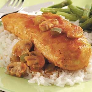 Tender Chicken for Two Recipe