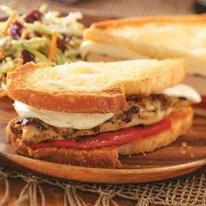 Chicken Pesto Sandwiches Recipe