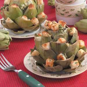Easy Stuffed Artichokes Recipe
