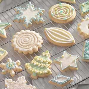 Vanilla Butter Cutouts Recipe