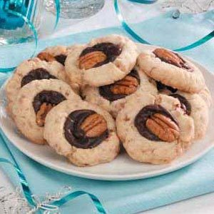 Fudge-Filled Toffee Cookies Recipe