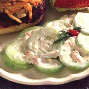 Classic Cucumber Salad Recipe