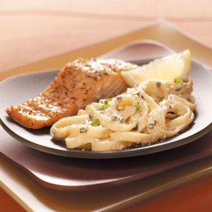 Creamy Parmesan Fettuccini Recipe