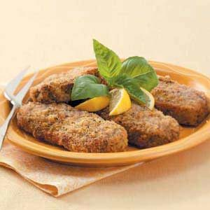 Lemon-Basil Pork Chops Recipe