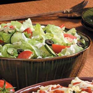 Traditional Greek Salad Recipe