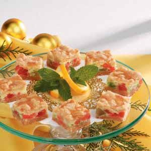 Fruit-and-Cheese Bars Recipe