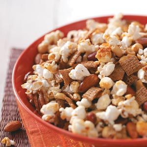 Popcorn Nut Treat