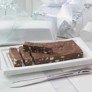 Million-Dollar Chocolate Fudge