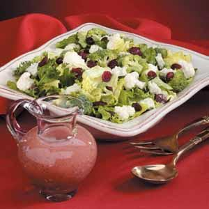 Tossed Cranberry Salad Recipe