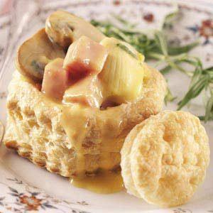 Artichoke Ham Puffs Recipe