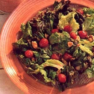 Lettuce with Raspberry Dressing Recipe