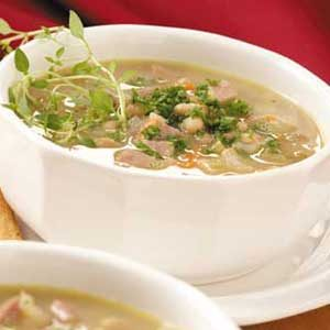 Contest-Winning Ham and Bean Soup Recipe