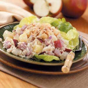 Hawaiian Ham Salad Recipe