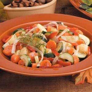 Glazed Vegetable Medley Recipe