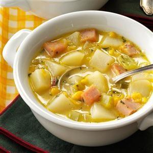 Fiesta Ham Soup Recipe