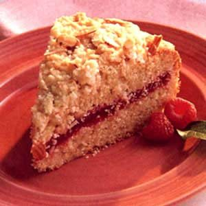 Raspberry Crumble Coffee Cake Recipe