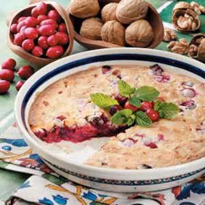 Cranberry Nut Dessert Recipe