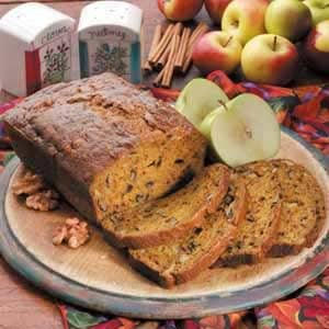 Chunky Apple Pumpkin Bread Recipe
