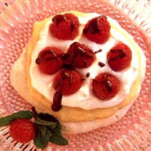 Raspberry Custard Meringue Recipe