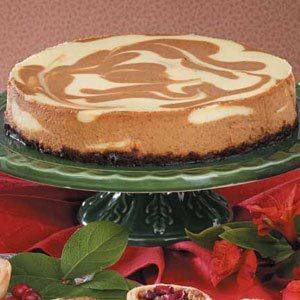 Marbled Pumpkin Cheesecake Recipe