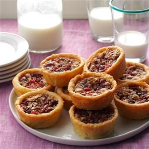 Berry Nut Tarts Recipe