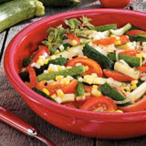 Contest-Winning Garden Vegetable Medley Recipe