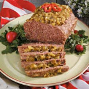 Spicy Meat Loaf Recipe