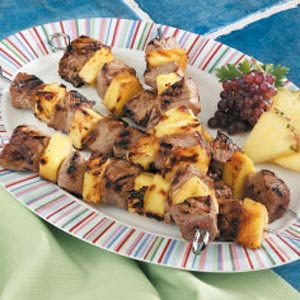 Pineapple Sirloin Skewers Recipe