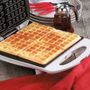Cottage Cheese Waffles Recipe