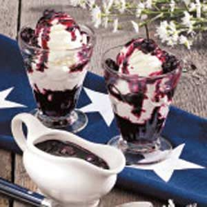 Quick Blueberry Syrup Recipe