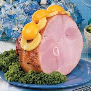 Peach-Glazed Ham Recipe